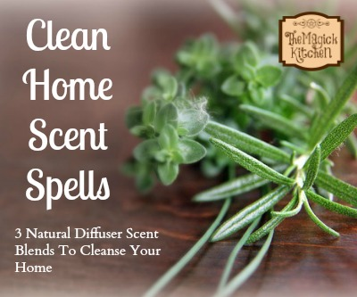 Clean Home Scent Spells