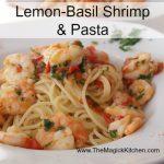 Lemon-Basil Shrimp and Pasta